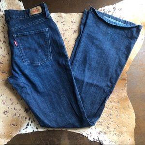 Levi's boot cut jeans size 2